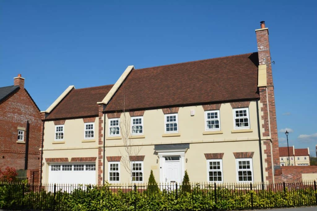 House with EcoRender render solutions