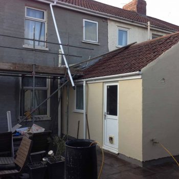 House renovation and plastering work