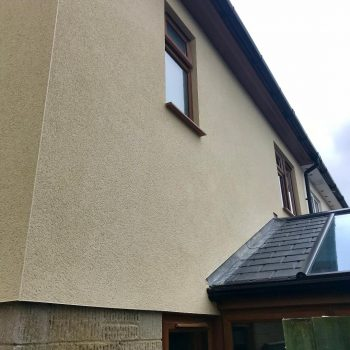 Salisbury external wall rendering